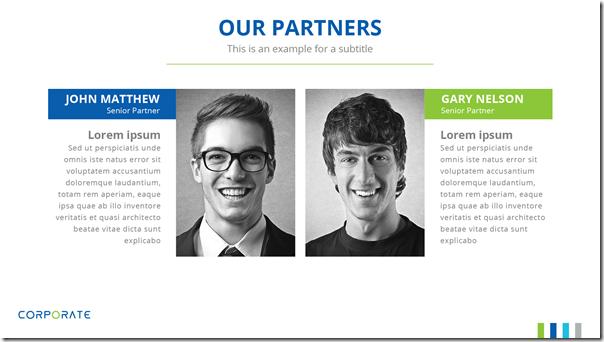 Corporate Presentation Template - Partner