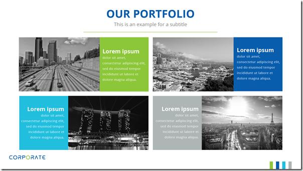 Good Presentation Template - Portfolio 2