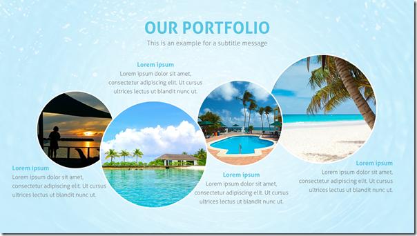 Good Presentation Template - Portfolio