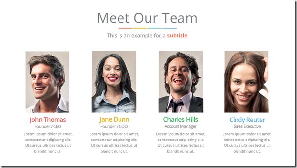 Good Presentation Template - Team